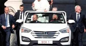 Alistan plan de seguridad para cuidar al Papa Francisco en el DF.