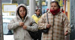La Secretaría de Salud reiteró su llamado a la población a proteger adecuadamente de la tormenta invernal.