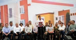 EL PRESIDENTE Enrique Peña Nieto en su mensaje, desde Altamira, Tamaulipas.
