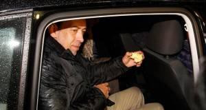 Humberto Moreira Valdés, expresidente del PRI, al salir de la cárcel en España.