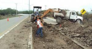 La SCT en Tamaulipas, recibió un recorte por 100 millones de pesos para la construcción de carreteras.