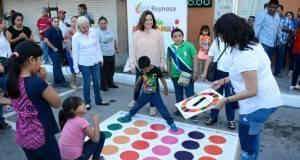 LA PRESIDENTA del DIF Reynosa, Elvira Mendoza de Elías celebró el Día de la Familia y el Día Internacional de la Mujer.