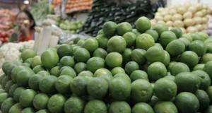 El precio del kilo de limón se incrementó notablemente, reportó la Profeco.