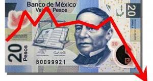 La junta de gobierno del Banco de México recortó el pronóstico de crecimiento económico.
