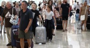 En enero pasado llegaron a México, vía aérea, 1.4 millones de turistas extranjeros.
