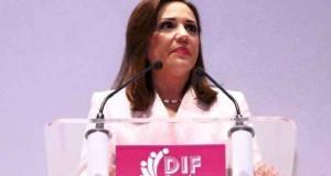 La presidenta del Sistema DIF de Tampico, Silvia Alcaraz de Torres rindió su II Informe de Actividades.