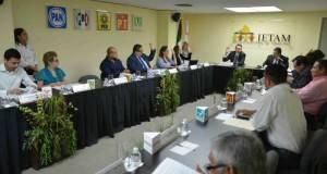 El IETAM determinó día, hora y reglas para el primer encuentro entre candidatos.