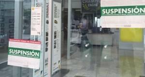 La Profeco colocó sellos de suspensión en la Agencia Automotriz Renault, de esta capital.