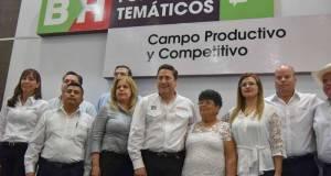 """Baltazar Hinojosa habló de los compromisos concretados durante el Foro """"Campo Productivo y Competitivo""""."""