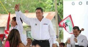 El candidato de la coalición prometió reactivar la economía de Tamaulipas.