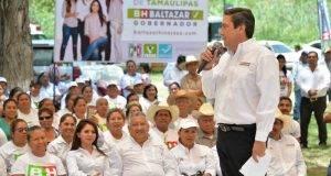 Baltazar Hinojosa aseguró que su campaña sigue en crecimiento.