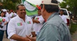 Mejorar el alumbrado público de la ciudad es una de las metas de Oscar Almaraz.