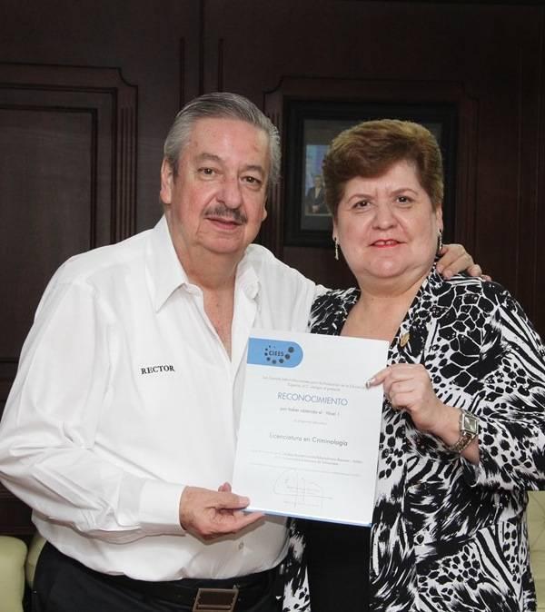 La UAMRA recibió el reconocimiento Nivel I a la carrera de Licenciado en Criminología.