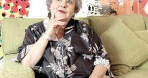'Chachita' Muñoz, actriz.