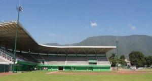 """TOTALMENTE concluido el parque de béisbol """"Praxedis Balboa"""" que será entregado por el gobernador Egidio Torre Cantú a los deportistas de esta Capital."""