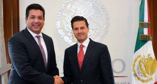 Ofrece Peña Nieto todo su apoyo a Cabeza de Vaca