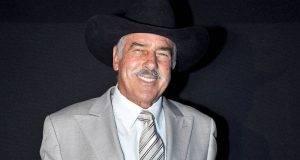 El actor Andrés García, sufre parálisis en el 95% de su cuerpo,