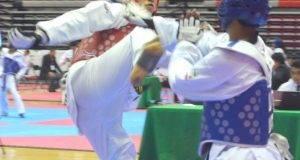 BRONCE en la prueba de kumite fue para el tamaulipeco Edson Javier Sánchez.