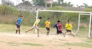 MURCIELAGOS, continúa ganando en la categoría Bip Bips del Torneo de Fútbol Infantil del Fraccionamiento Luis Quintero.