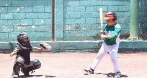 Humberto Sandoval en el área de juego.