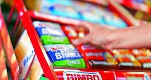 La compañía panificadora Grupo Bimbo, registró un crecimiento de 64.2% en sus ventas.
