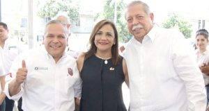 El alcalde Gustavo Torres destacó el liderazgo del gobernador Egidio Torre Cantú.