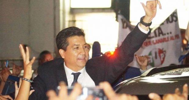 Francisco García Cabeza de Vaca, hoy el gabinete.
