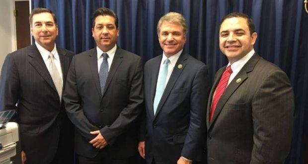 El Gobernador electo de Tamaulipas promueve en Washington, desarrollo económico y seguridad.