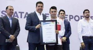 Juan Daniel Rodriguez Mascorro, el mejor en deporte adaptado
