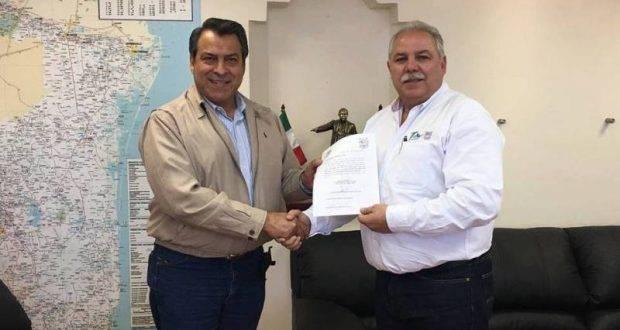 José Martín Carmona Flores fue designado Director General del Instituto Tamaulipeco para los Migrantes.