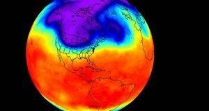 La temperatura global promedio para el 2017 será de unos 0.75 grados Celsius sobre el promedio de 1961-1990.