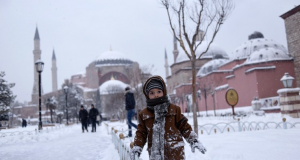 La ola de frío continuó afectando a varios países de Europa, desde Rusia a Grecia.