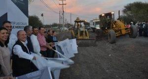 Jesús de la Garza Díaz del Guante puso en marcha los trabajos para la modernización de la carretera Sendero Nacional.