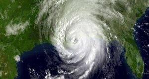Imagen satélite del huracán 'Katrina' a su paso por las costas norteamericanas.