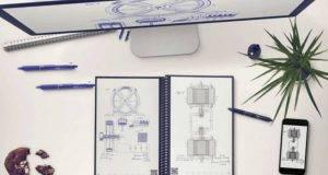 El Everlast Notebook, que permite subir la información a la nube escaneando la página con una aplicación móvil