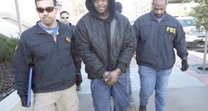 Terry A.D. Strickland, de 24 años, fue detenido por el FBI.