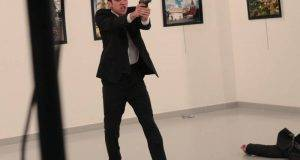 Mevlut Mert Altintas, el asesino del embajadorrusoen Ankara.