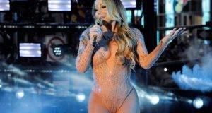 Mariah Carey tuvo pésima actuación en los festejos de Año Nuevo en Nueva York.