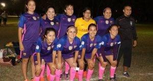 EL CONJUNTO de IPSSET, marcha a la cabeza en el fútbol femenil Copa Gobernador.