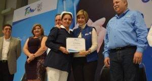 El Gobierno de Tamaulipas conmemoró este martes el Día de la Enfermera y el Enfermero.