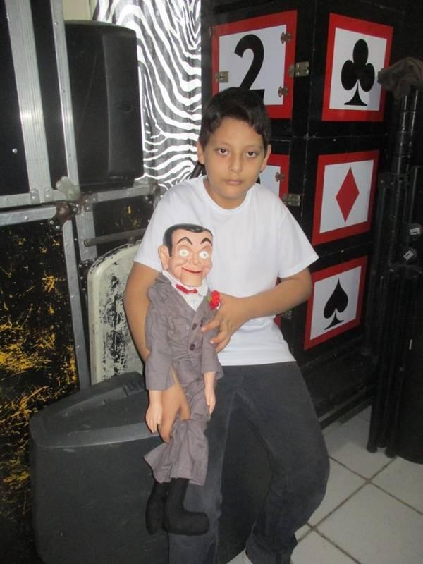 """""""LEGONI"""" es el mago más joven de Tamaulipas, con tan solo 12 años de edad."""