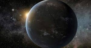La ilustración muestra el aspecto de este nuevo planeta extrasolar