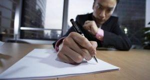 A pesar de la voluminosa producción bolígrafos, los chinos tenían que importar las bolas de acero de la punta.