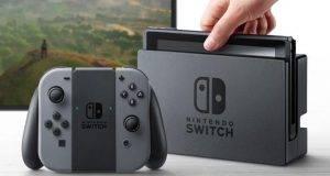 Detalle de la nueva consola de Nintendo, Switch