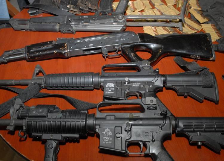 El comercio mundial de armas se incrementó otra vez claramente.