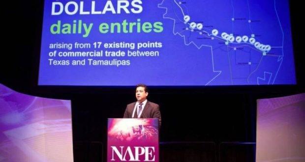 El Gobernador Francisco García Cabeza de Vaca, expuso ante inversionistas de distintos reunidos en la Expo NAPE.