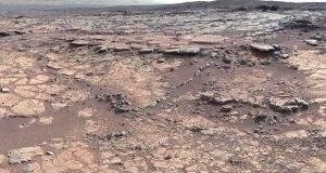 El paisaje de Marte estudiado por el Curiosity