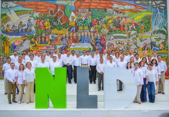 Arrancan campa a todos somos nld el gr fico de tamaulipas for Mural nuestra carne