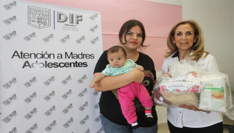Grupo de apoyo a madres adolescentes 2as - Madres