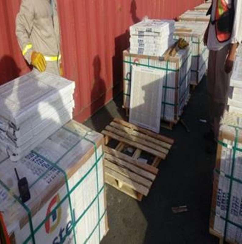 Intercepta profepa 44 tarimas de madera infestadas en - Tarimas de madera usadas ...